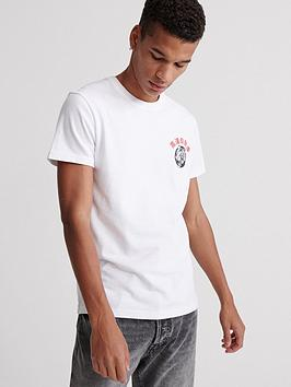 Superdry Superdry Urban Varsity Tokyo T-Shirt - White Picture
