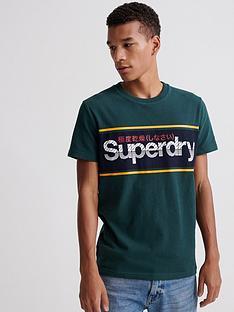 superdry-core-logo-stripe-t-shirt-green