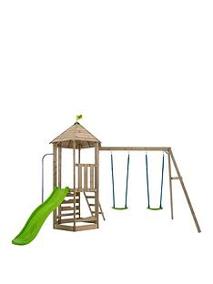 tp-castlewood-tower-with-double-swing-arm-amp-slide