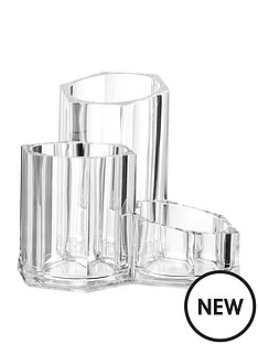 premier-housewares-cosmetics-3-compartment-organiser