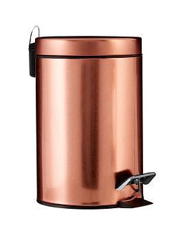 Premier Housewares Premier Housewares Copper Pedal Bin Picture