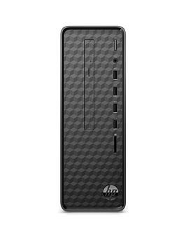 hp-slim-s01-af0001na-intelreg-pentiumreg-j5005-4gb-ram-1tb-hard-drive-desktop-pc-with-optional-microsoft-365-familynbsp1-year-black