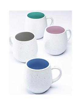 WATERSIDE Waterside Set Of 4 Speckled Hug Mugs Picture