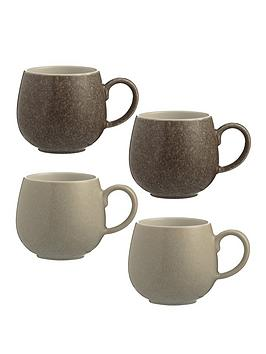 Mason Cash Mason Cash Set Of 4 Reactive Mugs Picture