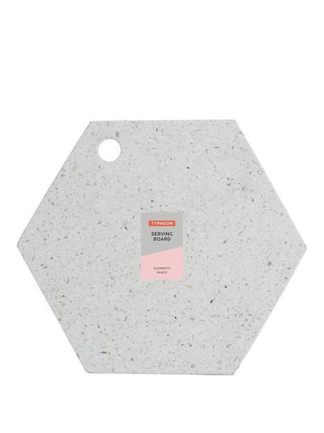 typhoon-terrazzo-hexagonal-chopping-board