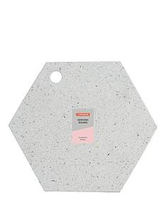 typhoon-terrazzo-hexagonal-chopping-board