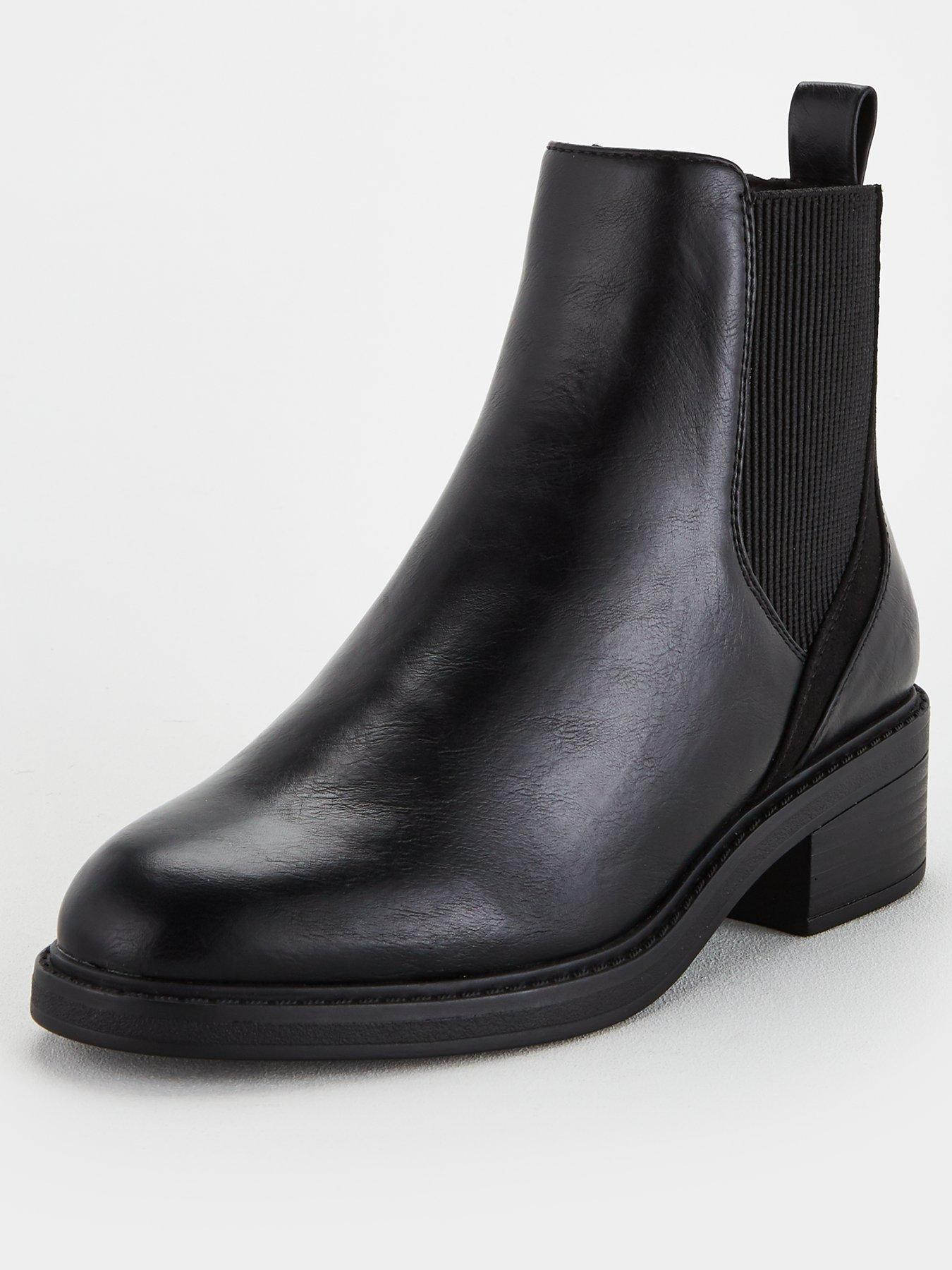Ankle Boots   Wide   Boots   Shoes