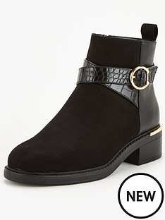 v-by-very-wide-fit-foxglove-buckle-ankle-boot-black