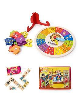 Mr Tumble Mr Tumble Mr Tumble Sound Puzzle, Puzzle Clock & Dominoes Picture