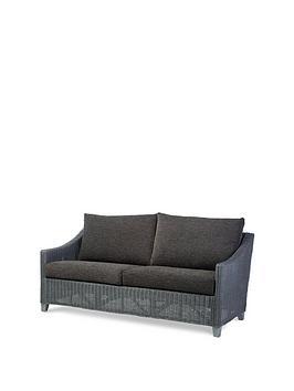 Desser Desser Dijon Grey Wash Conservatory 3-Seater Sofa Picture