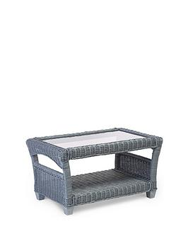 Desser   Dijon Grey Wash Conservatory Coffee Table