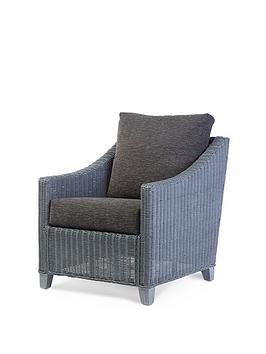 Desser Desser Dijon Grey Wash Conservatory Chair Picture