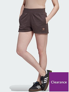 adidas-originals-new-neutral-3-stripes-short-dark-brownnbsp