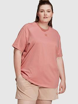 adidas Originals Adidas Originals New Neutral Boyfriend Plus Size T-Shirt  ... Picture