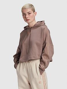 adidas-originals-new-neutral-cropped-hoodie-brown