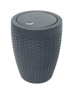 addis-5-litre-faux-rattan-bathroom-bin-with-swing-lid