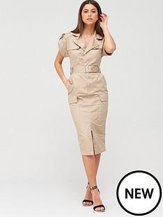 river-island-utility-midi-dress