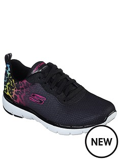 skechers-flex-appeal-30-trainer-black-multi