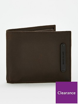 river-island-plate-long-wallet-chocolate
