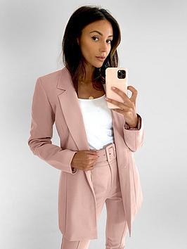 Michelle Keegan Michelle Keegan Edge To Edge Tailored Blazer Picture