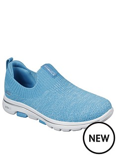 skechers-go-walk-5-trendy-slip-on-pumps-blue