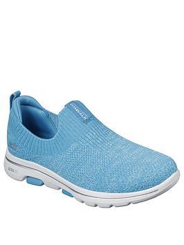 Skechers Skechers Go Walk 5 Trendy Slip On Pumps - Blue Picture