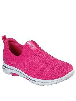 skechers-go-walk-5-trendy-slip-on-pump-pink