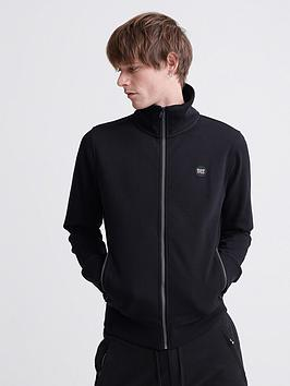 Superdry Superdry Collective Track Top - Black Picture
