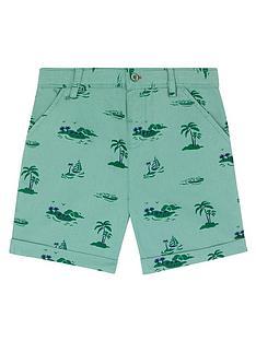 cath-kidston-boys-palm-print-chino-shorts-green