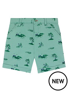 cath-kidston-boys-palm-print-chino-shorts-green