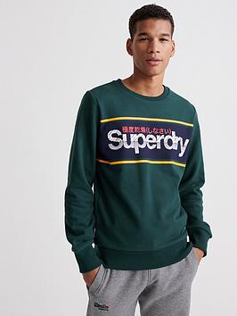 superdry-core-logo-stripe-crew-neck-sweatshirtnbsp--green