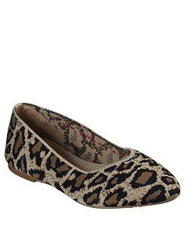Skechers Skechers Cleo Ballerina Shoe - Natural Picture