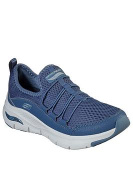 Skechers Skechers Arch Fit Trainer - Navy Picture