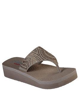 Skechers Skechers Vinyasa Flip Flop - Taupe Picture