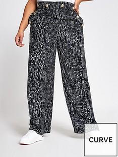 ri-plus-printed-wide-leg-trousers-blackwhite