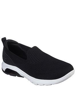 Skechers Skechers Go Walk Air Pump - Black White Picture