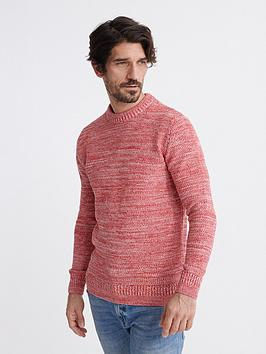 Superdry Superdry Keystone Crew Neck Jumper - Red Picture