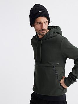 Superdry Superdry Urban Tech Overhead Hoodie - Green Picture