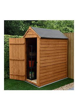 Forest 5X3 Value Overlap Dip Treated Windowless Apex Shed