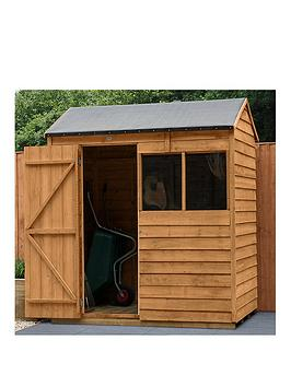 forest-6x4-value-dip-treated-overlap-reverse-apex-shed-with-optional-installation
