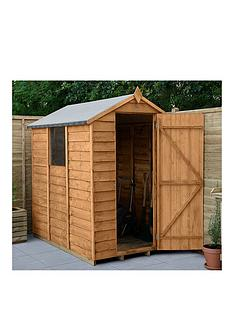 forest-6x4-value-overlap-dip-treated-apex-shed-with-optional-installation