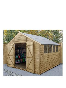 forest-10x10-overlap-pressure-treated-shed-with-optional-installation
