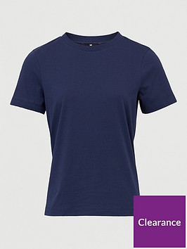 v-by-very-the-basic-crew-neck-tee-navy