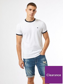 burton-menswear-london-embroidered-ribbed-t-shirt-white