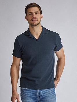 Burton Menswear London Burton Menswear London Revere Collar Polo Shirt -  ... Picture