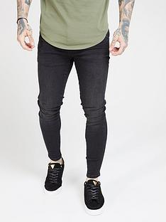 sik-silk-skinny-denim-jean-black