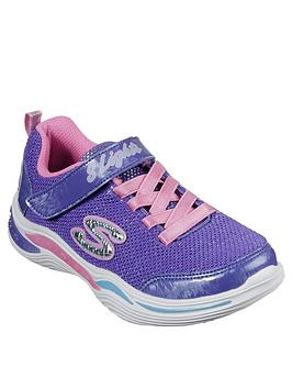 Skechers Skechers Girls Power Petals Trainers - Purple Picture