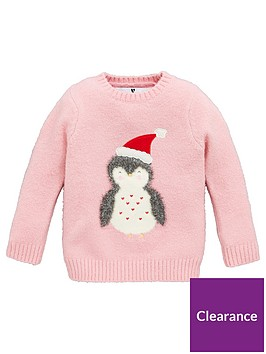 v-by-very-girls-penguin-jumper-pink