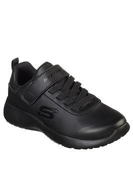 Skechers Skechers Dynamight Boys Day School Shoes - Black Picture