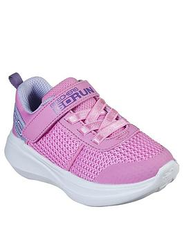 Skechers Skechers Toddler Girls Go Run Fast Trainers - Pink Picture